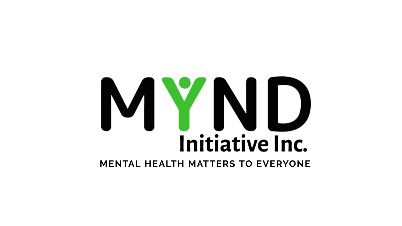 "YouTube video thumbnail. Includes the MYND logo plus ""mental health matters to everyone""."